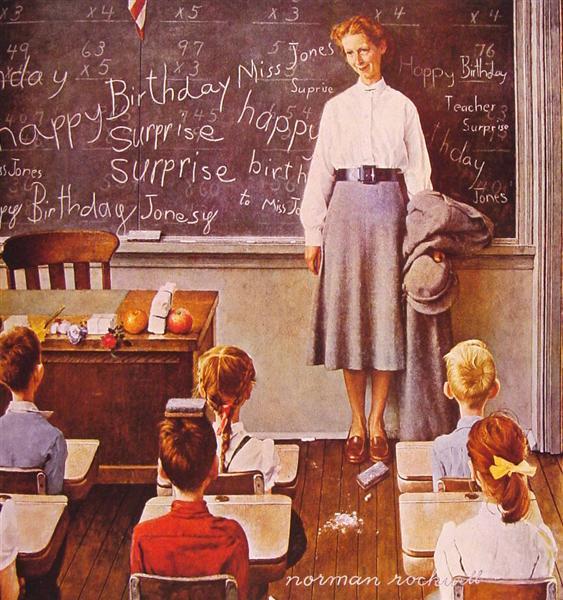 Φυσική με Τέχνη ...: Το σχολείο στη ζωγραφική: 13+1 εικόνες