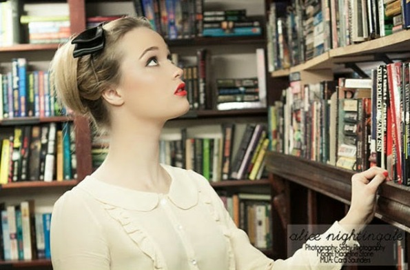 The Frivolous Bibliophile: Alice Nightingale Librarian Collection ...